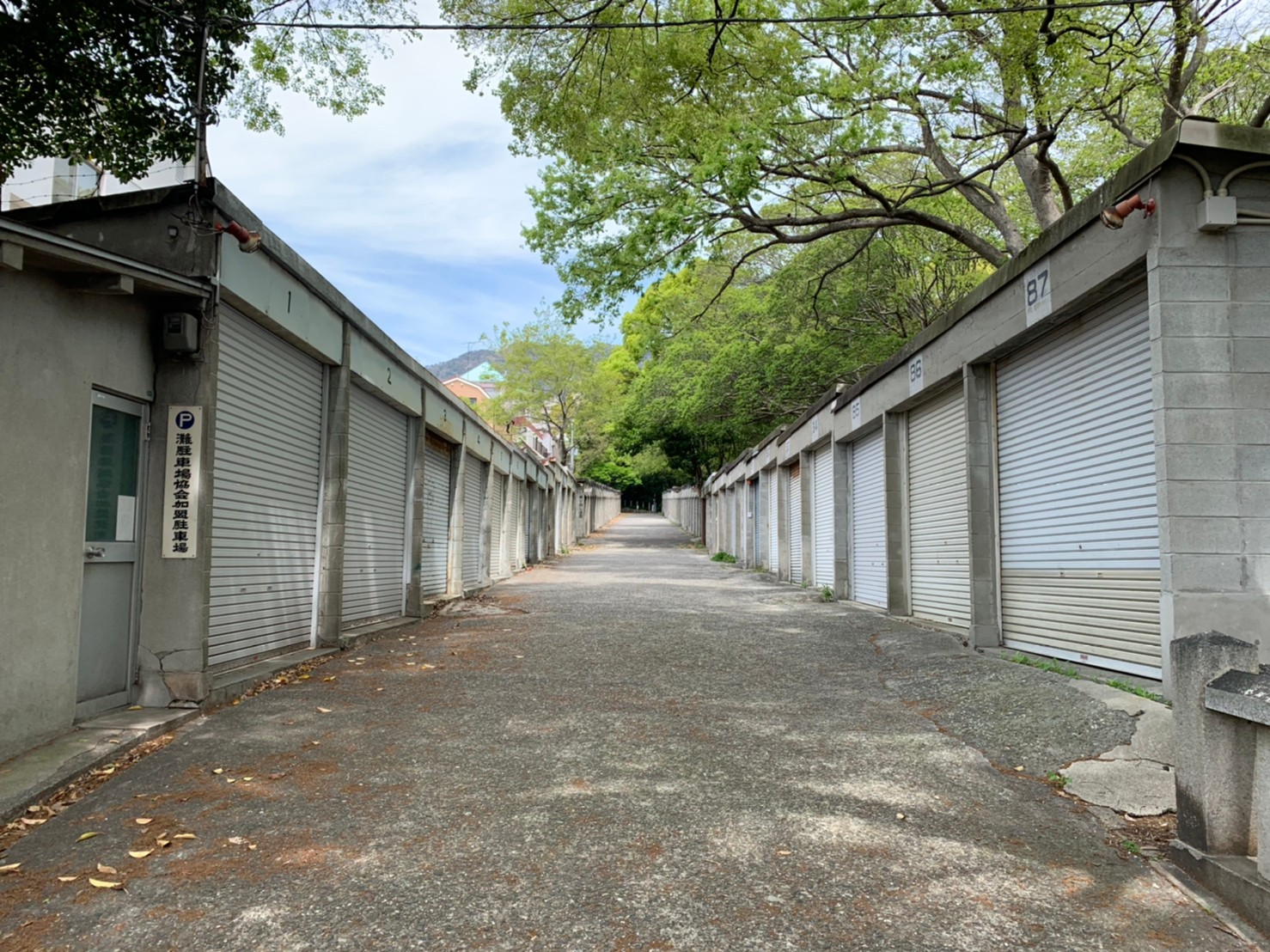 六甲八幡神社駐車場