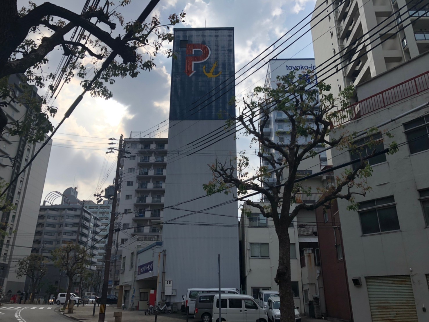 【月極駐車場 神戸市中央区相生町】イカリパーキング