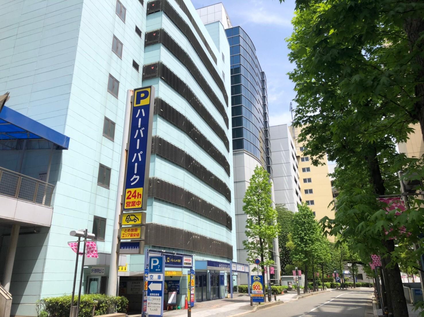 【月極駐車場 神戸市中央区東川崎町】ハーバーパーク