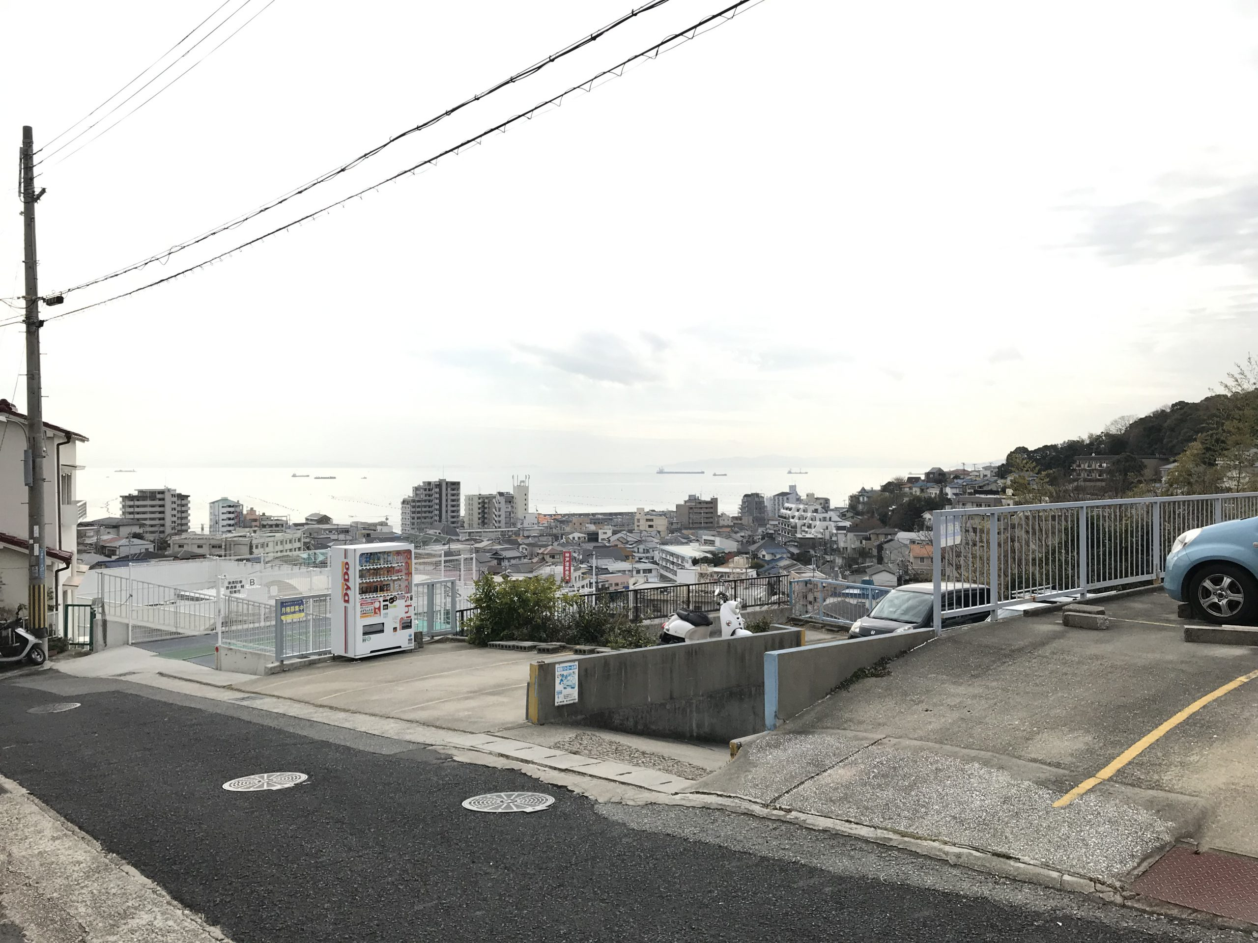 【月極駐車場 神戸市垂水区塩屋町】ヒルズパーキング
