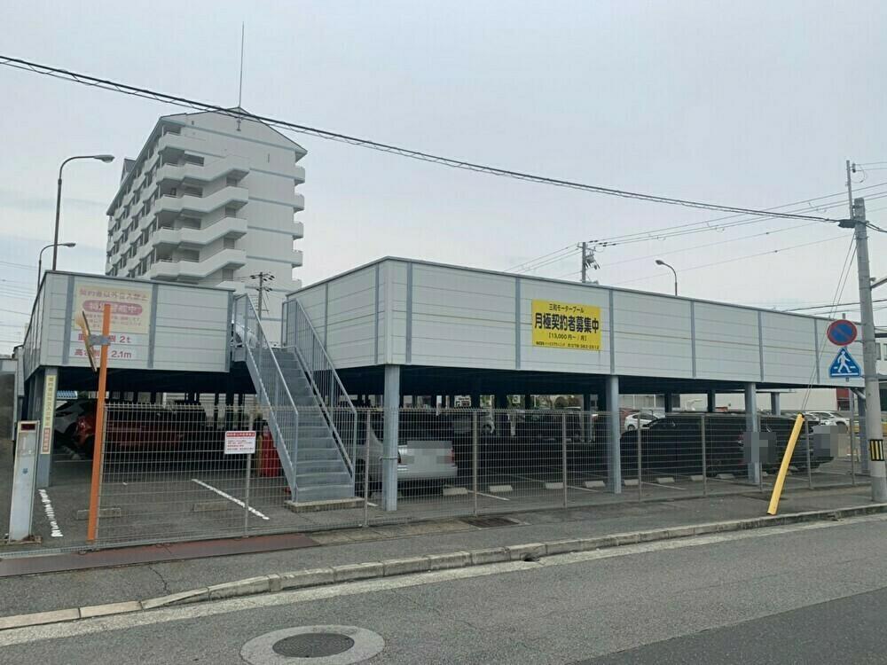 【月極駐車場 神戸市須磨区古川町】三和モータープール