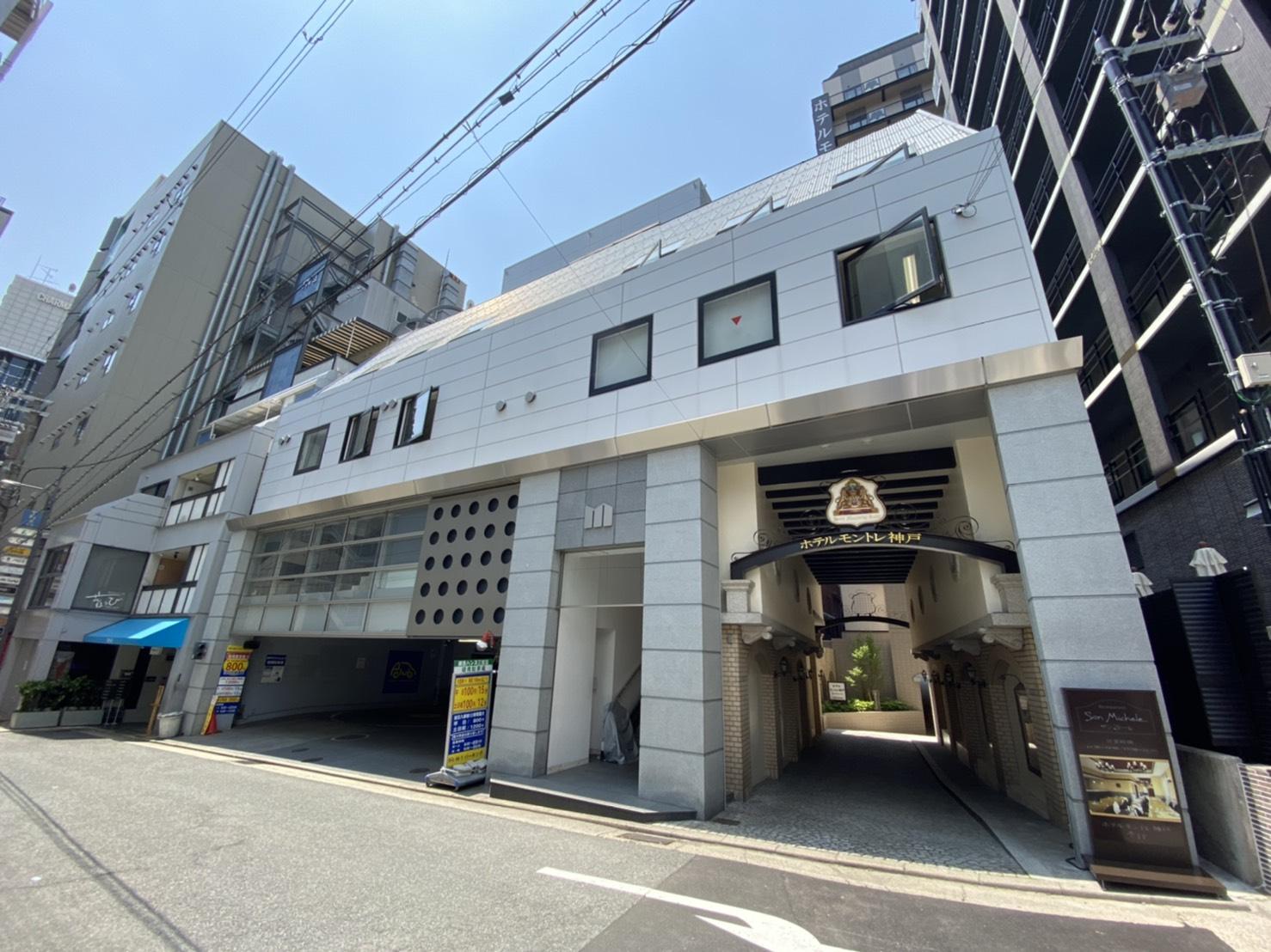 【時間貸し駐車場 神戸市中央区下山手通】M-1パーキング