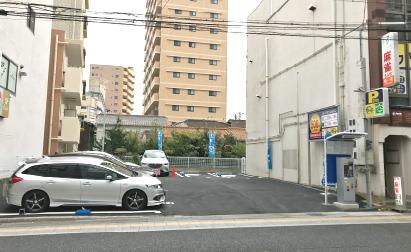 駐車場形態変更により収益改善