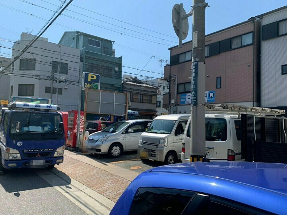 【時間貸し駐車場 神戸市須磨区大黒町】パークマン板宿