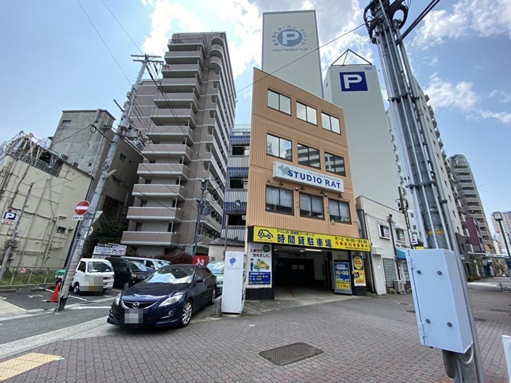 【時間貸し駐車場 神戸市中央区加納町】P-CLUB加納町パーキング
